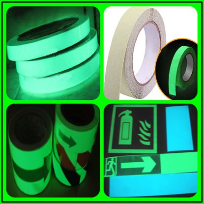 Picture of ,luminescent tape glow in the dark film luminescent film