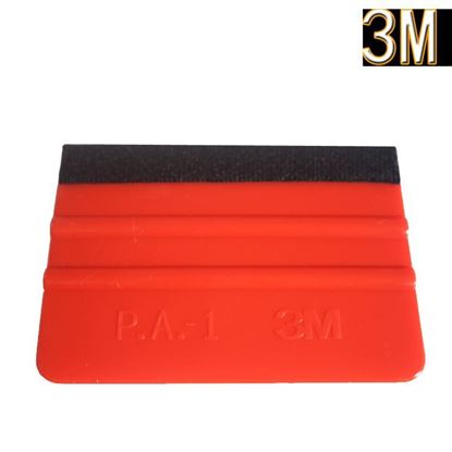 Picture of New car vinyl film wrapping tools 3m squeegee with felt soft wall paper scraper mobile screen protector install squeegee tool