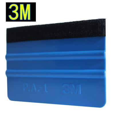 Picture of 3M Squeegee Car Sticker Wrapping Scraper With Cloth Scraper Car wrap Tools Glass Clean felt