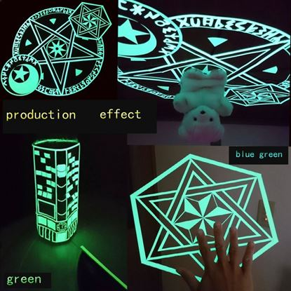Picture of 10m Luminous Self-adhesive Glow In The Dark Safety Stage Home Decorations10m  Tape