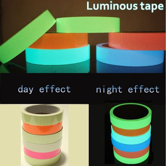 Winbang Luminous Tape 15mm*3m Green Self-adhesive Tape Night Vision Glow in Dark Safety Warning Security Stage Home Decoration Tapes